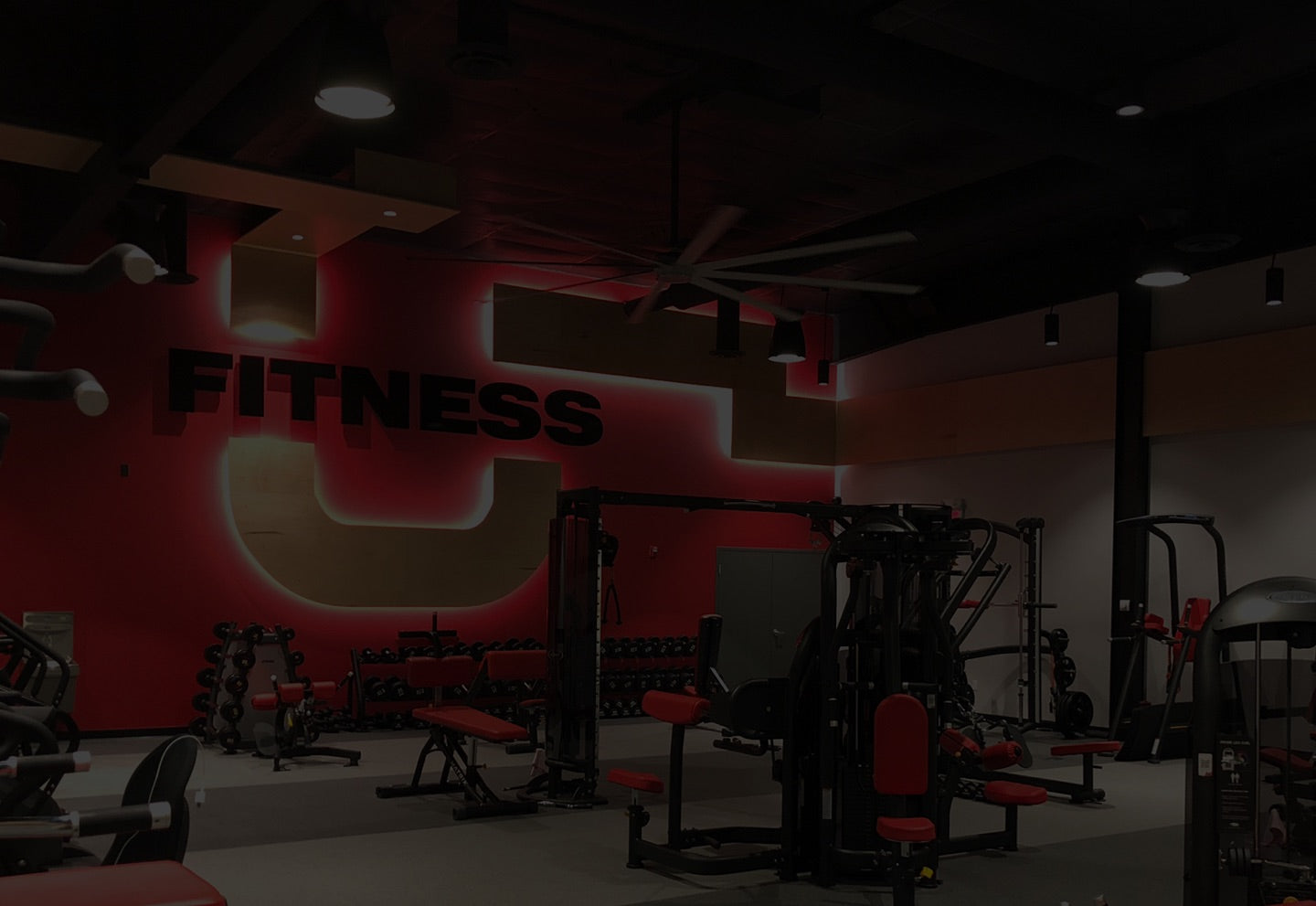 UFitness workout space