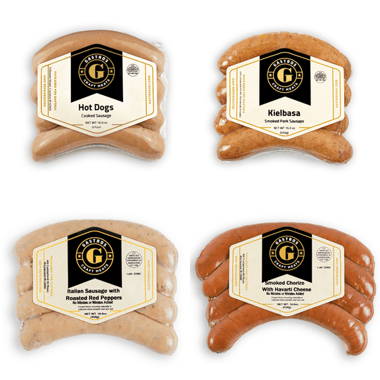 Sausage Sampler - 16 Pack - Parma Charcuterie