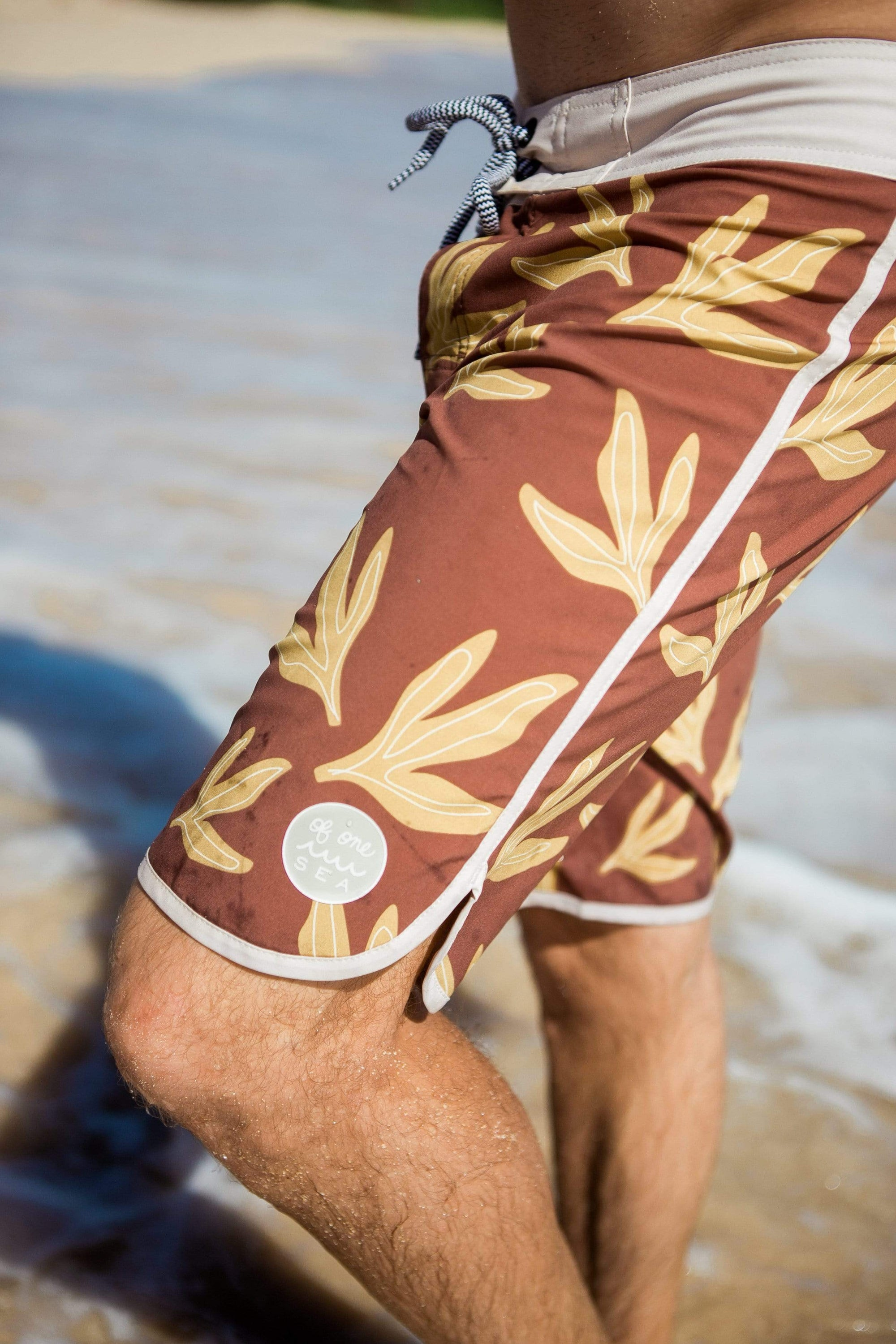 Men's Sea Leaf Retro Boardshorts