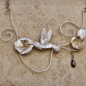 Hummingbird Necklace