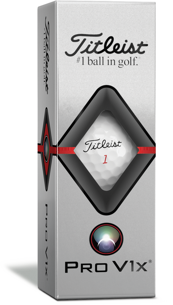 Titleist Pro V1x 3 Ball Pack