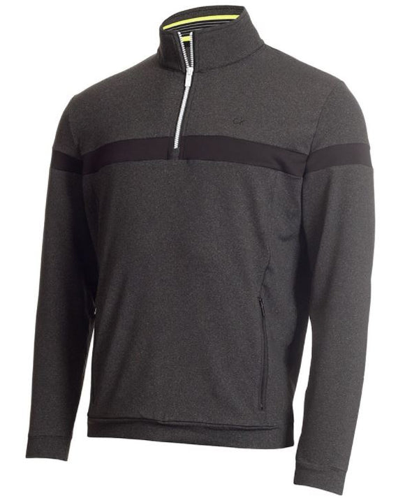 Calvin Klein SCALE PERFORMANCE HALF ZIP