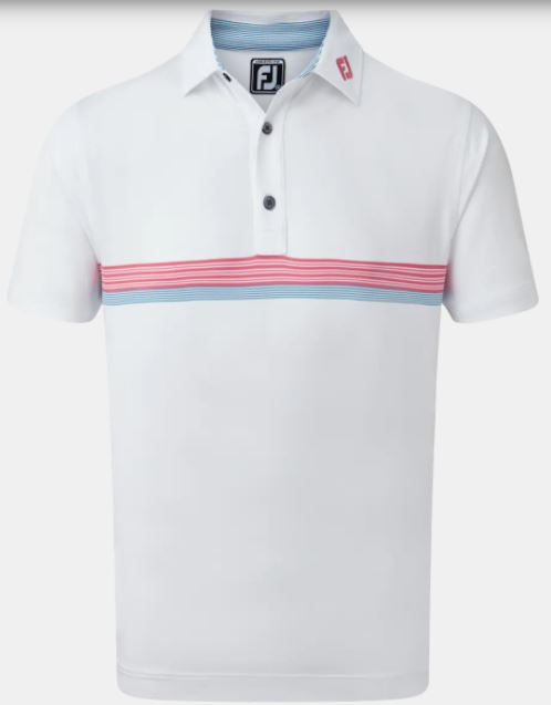FootJoy Lisle Engineered Chestband Polo