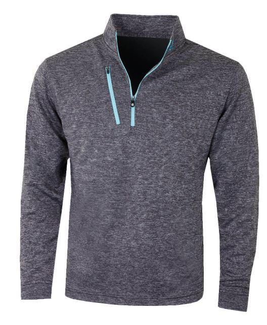 FootJoy Htr PinStr Chill-Out Pullover