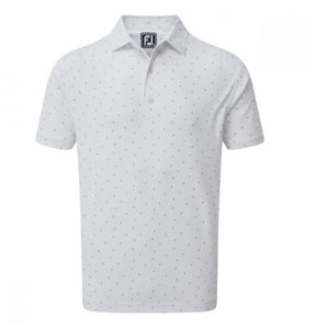 FootJoy Smooth FJ Print Polo Shirt