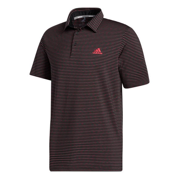 adidas Ultimate365 Space Dye Stripe Polo Shirt
