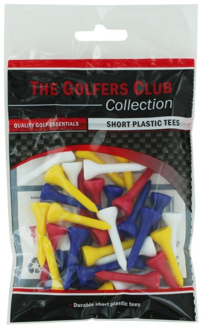 The Golfers Club Short Tee Pack - 32'S
