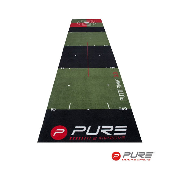 Pure2Improve Golfputting mat 65X300 cm