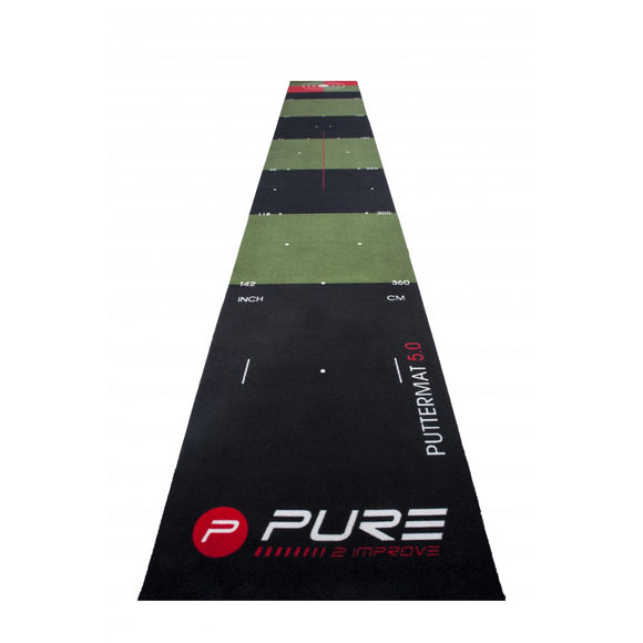 Pure2Improve Golfputting mat 65X500 cm