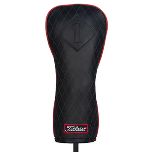 Titleist Jet Black Leather Headcover- Driver Essential Accessories