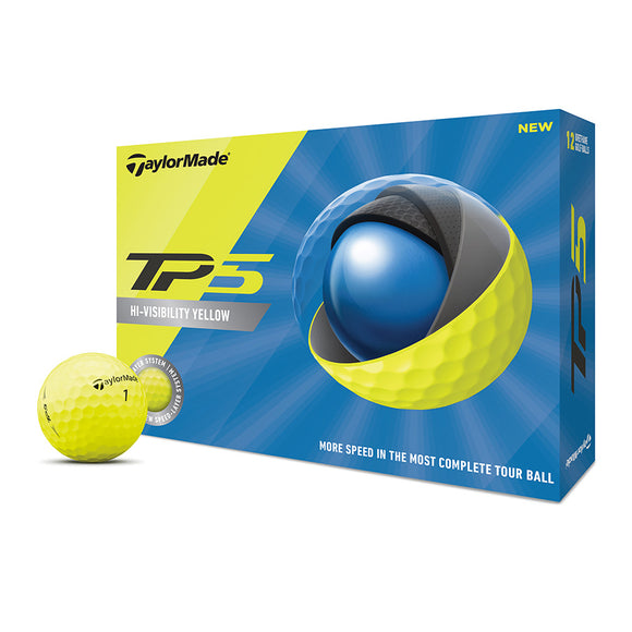 TaylorMade TP5 3 Ball Pack