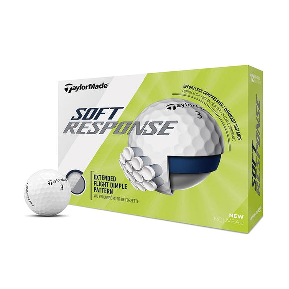 TaylorMade Soft Response 3 Ball Pack