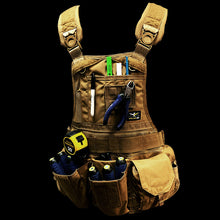 Load image into Gallery viewer, JourneyMESH™ Chest Rig with Cargo Pockets v2