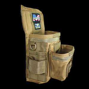 Martinez Universal Tool Pouch Coyote. Online store for premium quality 'stuff', get your Martinez pouch today and receive a special pre-order discount from Top Class Gears NZ