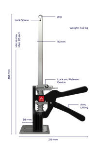 Viking Arm - Lifting Capacity of up to 150kg!