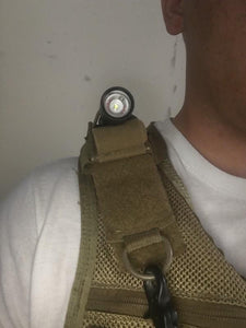 Shoulder Attach Mini Flashlight Leveler