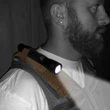 Load image into Gallery viewer, Shoulder Attach Mini Flashlight Leveler