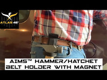 Load and play video in Gallery viewer, AIMS™ Hammer/Hatchet Belt Holder with Magnet