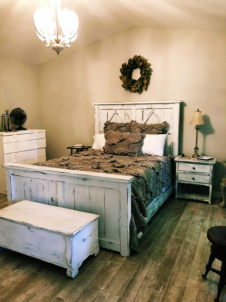 Diamond Farmhouse Bed South Birch