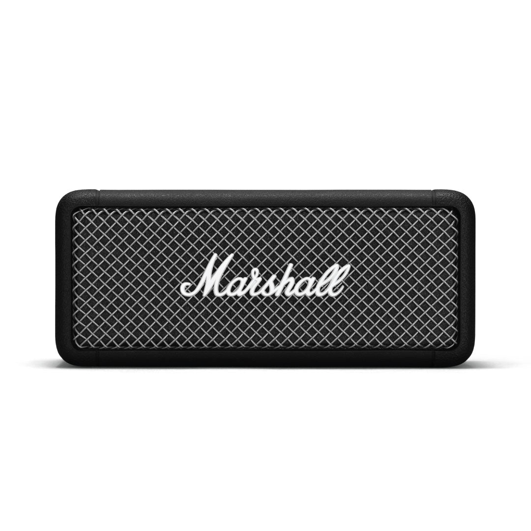 Marshall Emberton is now available at Qubix Technologies, Bangalore, India. Marshall Products Available for Purchase at Qubix Technologies, Bangalore. Home Speakers Available for Purchase at Qubix Technologies, Bangalore. Bluetooth Speakers Available for Purchase at Qubix Technologies, Bangalore. Wireless Speakers Available for Purchase at Qubix Technologies, Bangalore. Marshall Bangalore, Qubix Technologies.