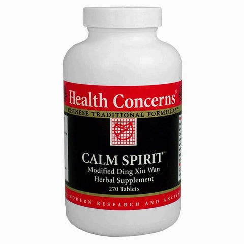 Calm Spirit, 90 tabletas, 750mg, Health Concerns. (ansiedad)