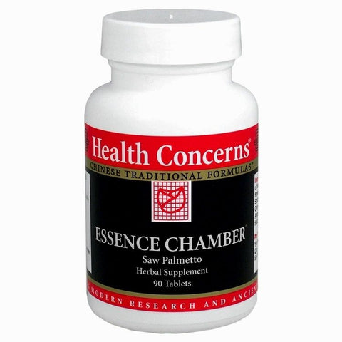 Essence Chamber, 90 tabletas (750 mg), Health Concerns. (Saw Palmetto) (Problemas de la próstata)
