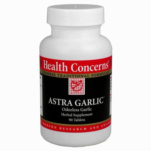 Astra Garlic, 90 tabletas, 750 mg, Health Concerns (Colesterol)