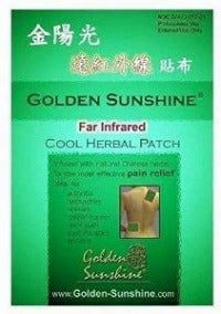 Far Infrared Cold Herbal Patch, 3 parches (4,3 x 5,9 pulgadas / 11 x 15 cm) by Golden Sunshine (Alivia dolores)