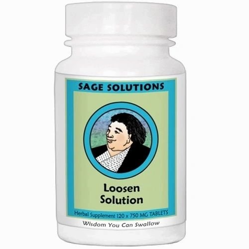 Loosen Solution *Tension*. 60 Tabletas 550 mg, Kan Traditional. (Tensión muscular)