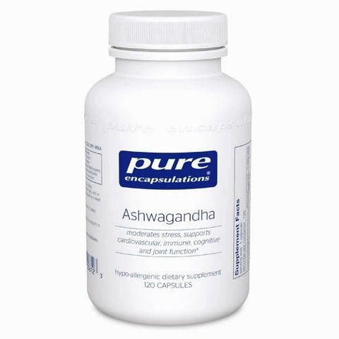 Ashwagandha, 90 Cápsulas x 450 mg, Pure Encapsulations.