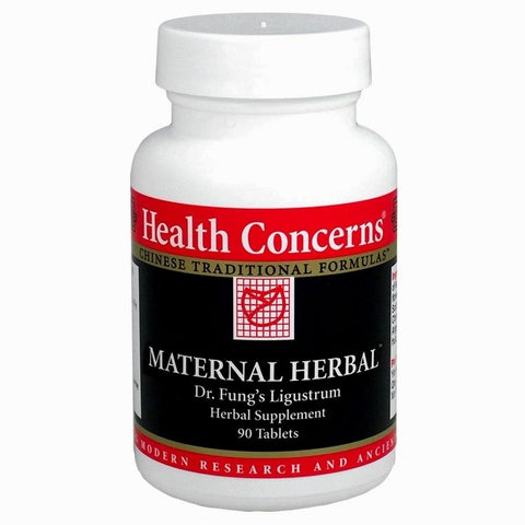 Maternal Herbal, 90 tabletas, 750 mg, Health Concerns (Fertilidad).