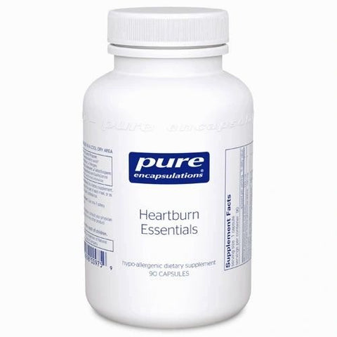 Heartburn Essentials, 90 Cápsulas 200 mg, Pure Encapsulations(Gastritis, ulcera)