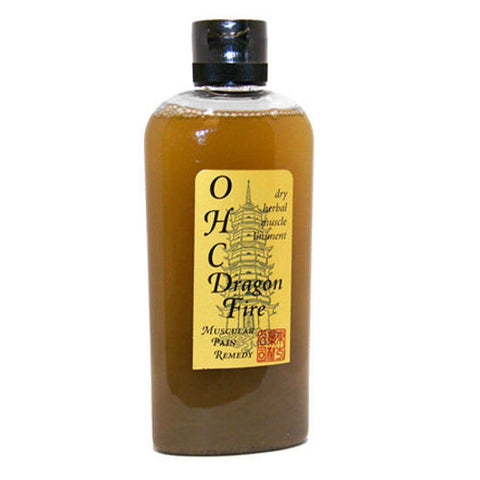 Dragon Fire Muscle Liniment (OHC) 4 onzas, Uso Externo (esguinces, traumas)
