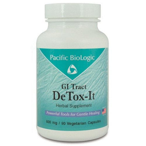 DeTox-It, 90 Cápsulas x 600 mg, Pacific BioLogic. (Elimina Inflamación)