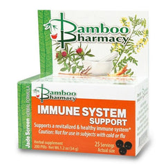 Immune System Support (Yu Ping Feng San ), 200 Píldoras, Mayway Bamboo Pharmacy (Inmunidad)