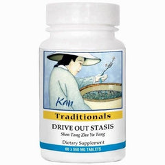 Drive Out Stasis, 60 Tabletas 550 mg, Kan Traditional. (Osteoatritis, dolor y traumatismos).