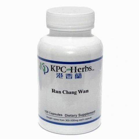 Run Chang Wan, 100 Cápsulas 300-500 mg, KCP. (Sequedad de los intestinos y constipación).