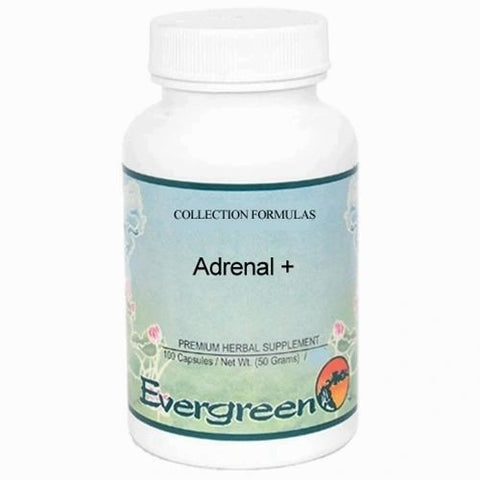 Adrenal + (formerly Adrenoplex), 100 Cápsulas x 500mg, Evergreen.