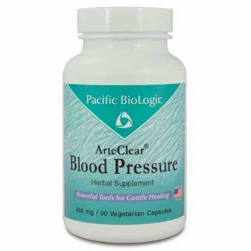 Blood Pressure, 90 Cápsulas x 650mg, Pacific BioLogic.