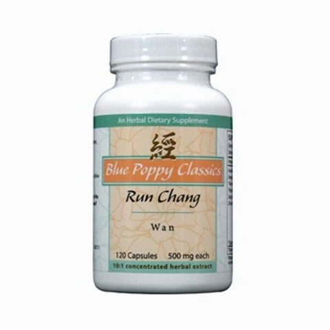 Run Chang Wan, 120 Cápsulas 500 mg, Blue Poppy. (Sequedad de los intestinos y constipación).