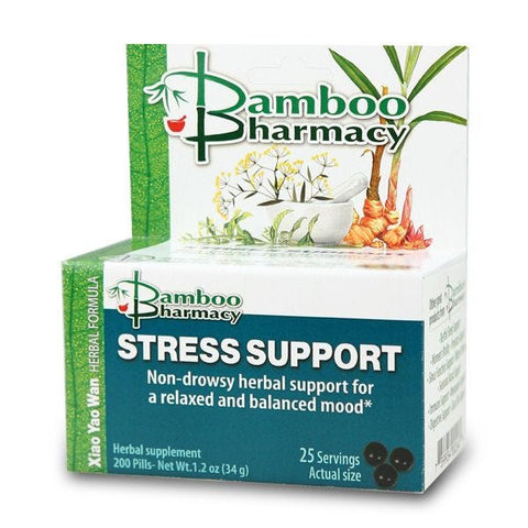 Stress Support (Xiao Yao San), 200 Píldoras, Mayway Bamboo Pharmacy (Ansiedad)