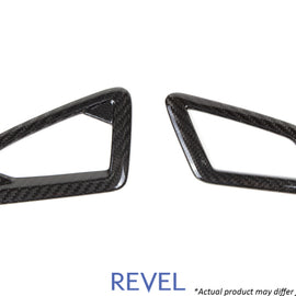 Revel GT Dry Carbon Defroster Garnish (Left & Right) 16-18 Honda Civic - 2 Pieces