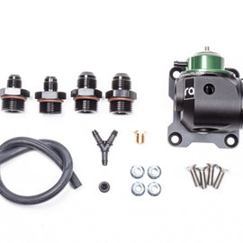 Radium Engineering Universal Fuel Regulator/Pulse Damper Kit 10AN ORB (7/8in-14) Inlet and Outlet