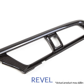 Revel GT Dry Carbon A/C Control Panel Cover 16-18 Honda Civic - 1 Piece