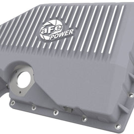 aFe 05-19 VW 1.8L/2.0L w/ Oil Sensor Engine Oil Pan Raw POWER Street Series w/ Machined Fins