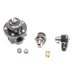 Radium Engineering Direct Mount Regulator 8AN ORB - Black