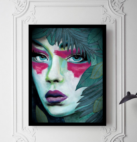 'Amazon' ART PRINTS by Marta Hutt