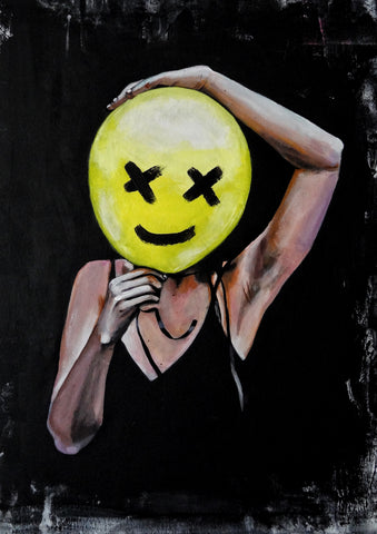 'Balloon Girl' CANVAS by Marta Hutt