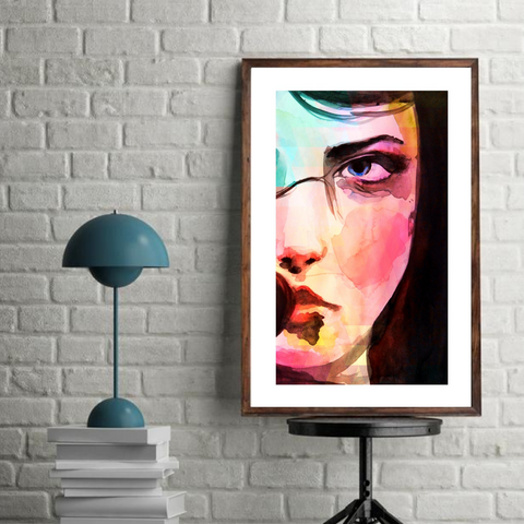 'Eva' ART PRINTS by Marta Hutt