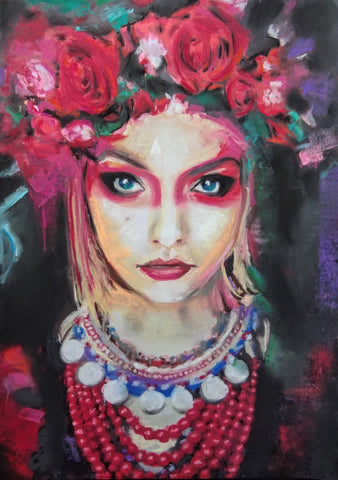 'Fierce Foreigner' ART PRINTS by Marta Hutt